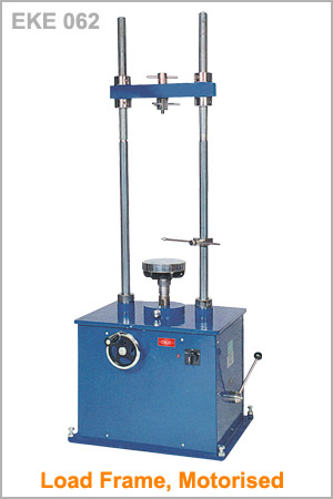 Load Frame, Motorised : Soil Testing Equipments : ENKAY ENTERPRISES
